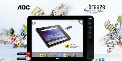 TABLET VREEZE AOC