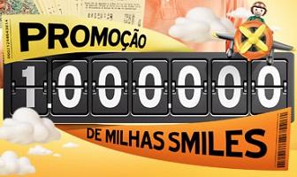WWW.1MILHAODEMILHAS.COM.BR, PROMOÇÃO 1 MILHÃO DE MILHAS SMILES