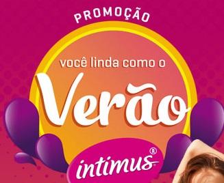 Promoção você linda como o verão Intimus