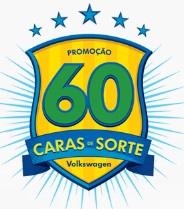 WWW.PROMOCAO60CARASVW.COM.BR, PROMOÇÃO 60 CARAS DE SORTE VW