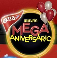 WWW.EXTRA.COM.BR/ANIVERSARIOEXTRA2013, PROMOÇÃO EXTRA MEGA ANIVERSÁRIO 2013